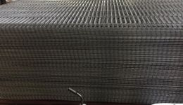 181x342 cm welded wire mesh panel hole size 258mm x 50 mm for agricultural fence