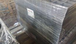 8x8 cm 125 - 277 cm black raw welded wire mesh panel export