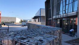 Gabion wall fence - gabion basket fence manufacturing